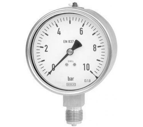 Μειωτής Πίεσης Νερού 1/2  Με δυο Ρακόρ (Βαρέως Τύπου) 20 atm ΙΤΑΛΙΑΣ ΜΕ ΜΑΝΟΜΕΤΡΟ MALGORANI