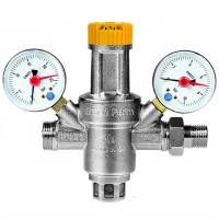 Μειωτής Πίεσης με Δύο Μανόμετρα BRASS FORM 716