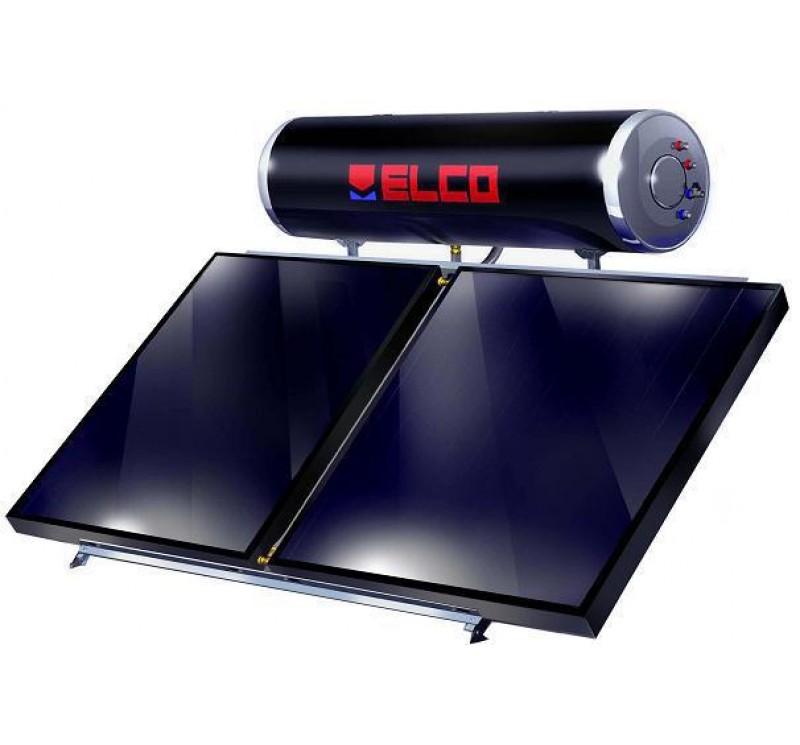 Ηλιακός Θερμοσίφωνας ELCO EL-160 SOL-TECH /3,0  ΔΙΠΛΗΣ ΕΝΕΡΓΕΙΑΣ 160lt