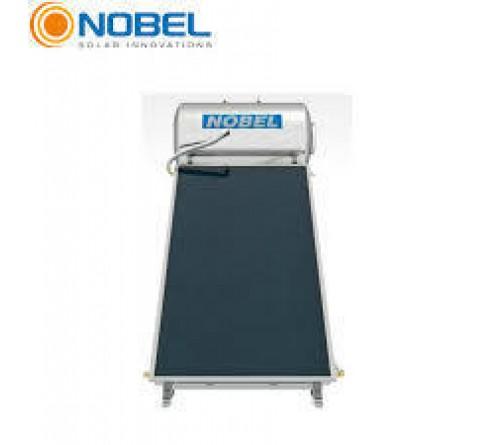 Ηλιακός θερμοσίφωνας NOBEL CLASSIC 120lt/2τμ - Glass - Επιλεκτικός APOLLON- Διπλής Ενέργειας - Βάση Ταράτσας